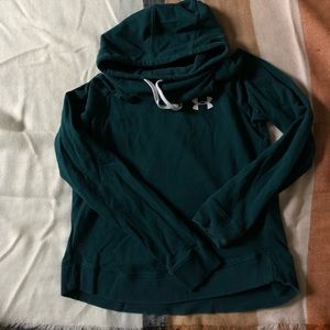 Under Armour hoodie size small, funnel neck style
